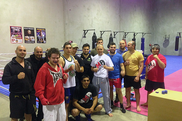 Sparring time at The Mint MMA